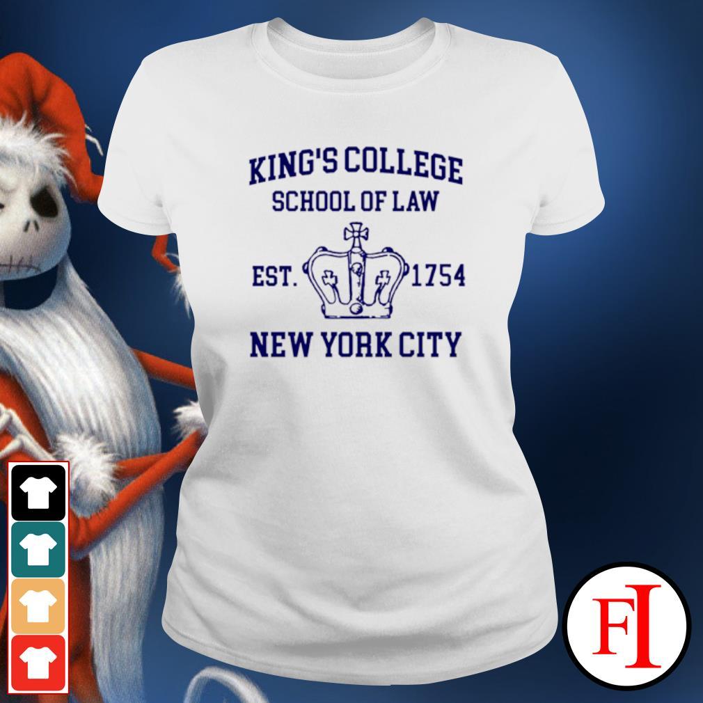 Alexander Hamilton king's college school of law est 1954 New York city ladies-tee