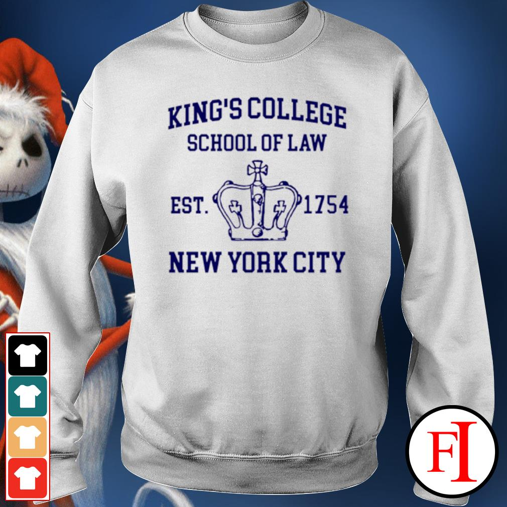 Alexander Hamilton king's college school of law est 1954 New York city sweater