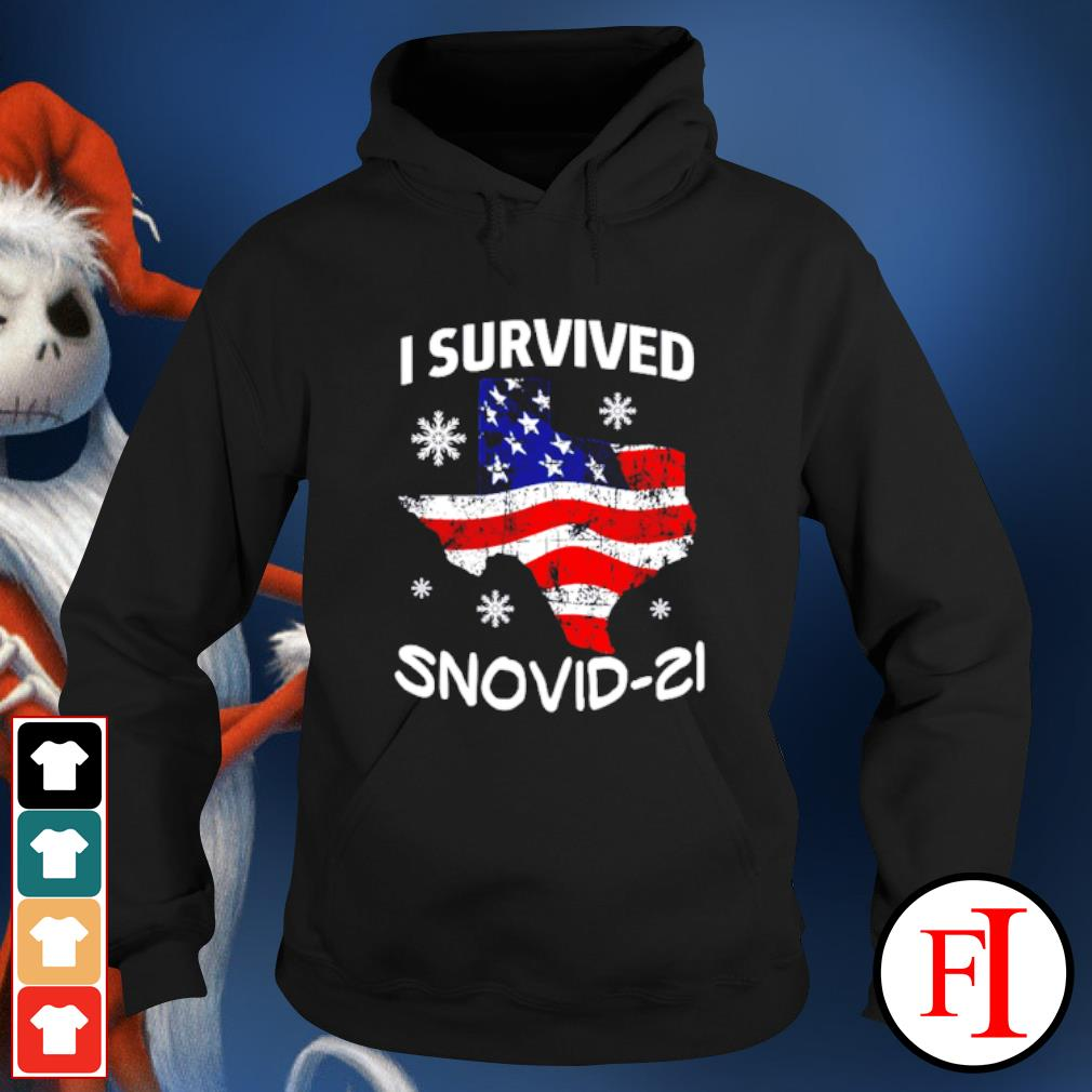 I Survived Snovid-21 Snow Ice Outage hoodie
