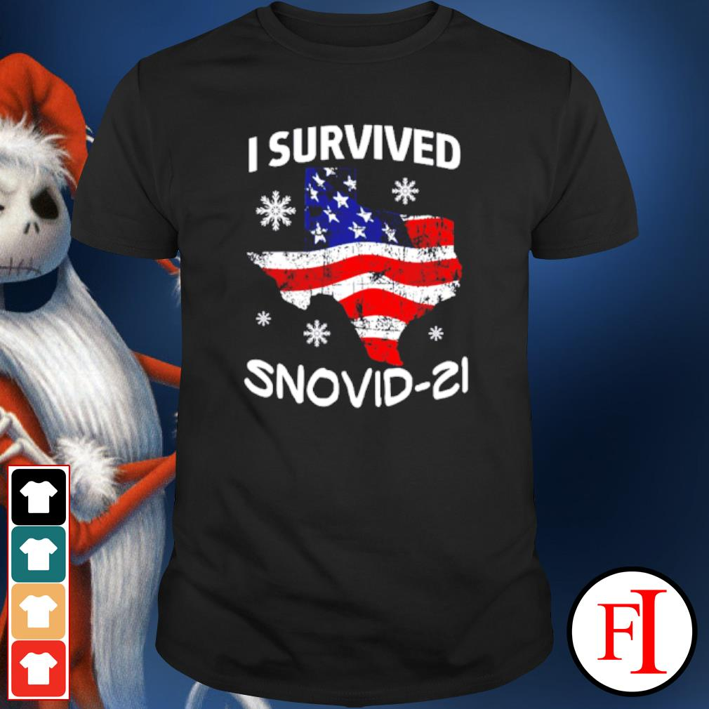 I Survived Snovid-21 Snow Ice Outage shirt