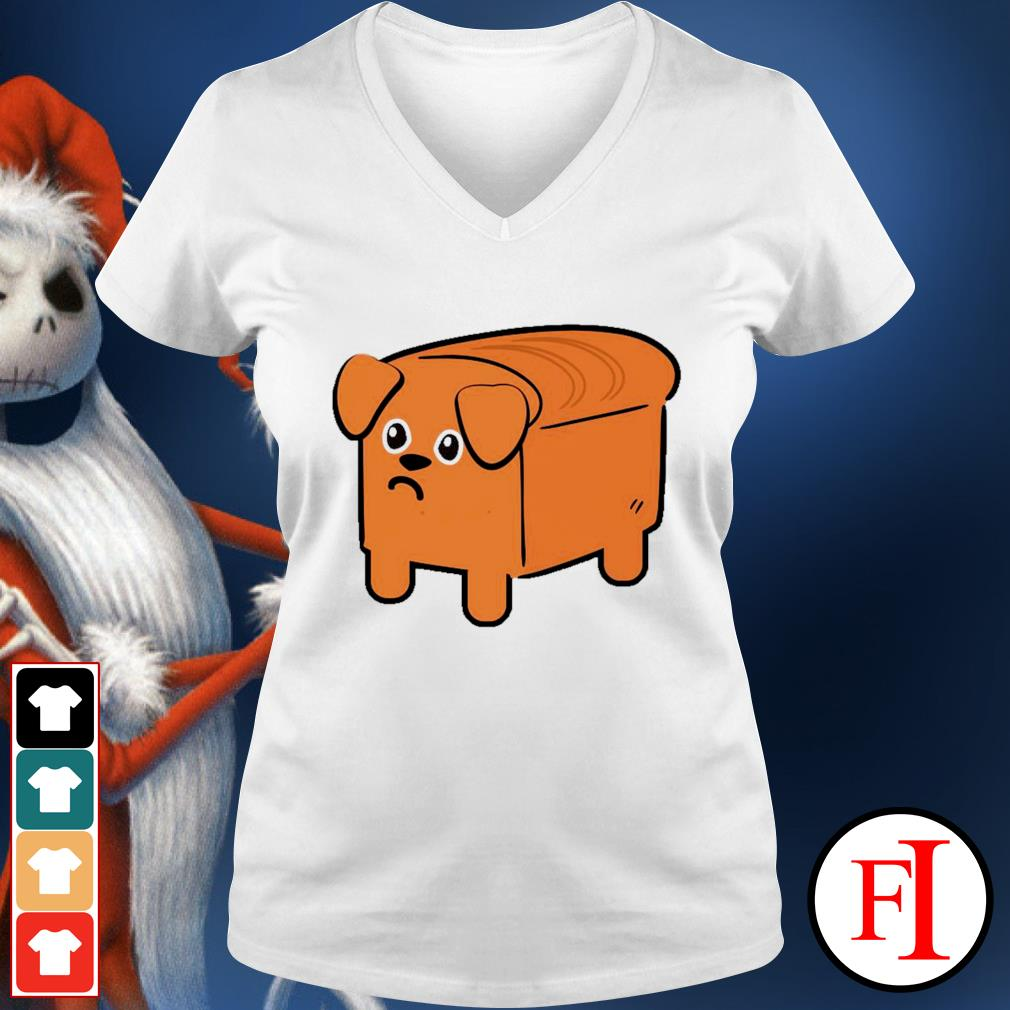 Dog bread v-neck-t-shirt