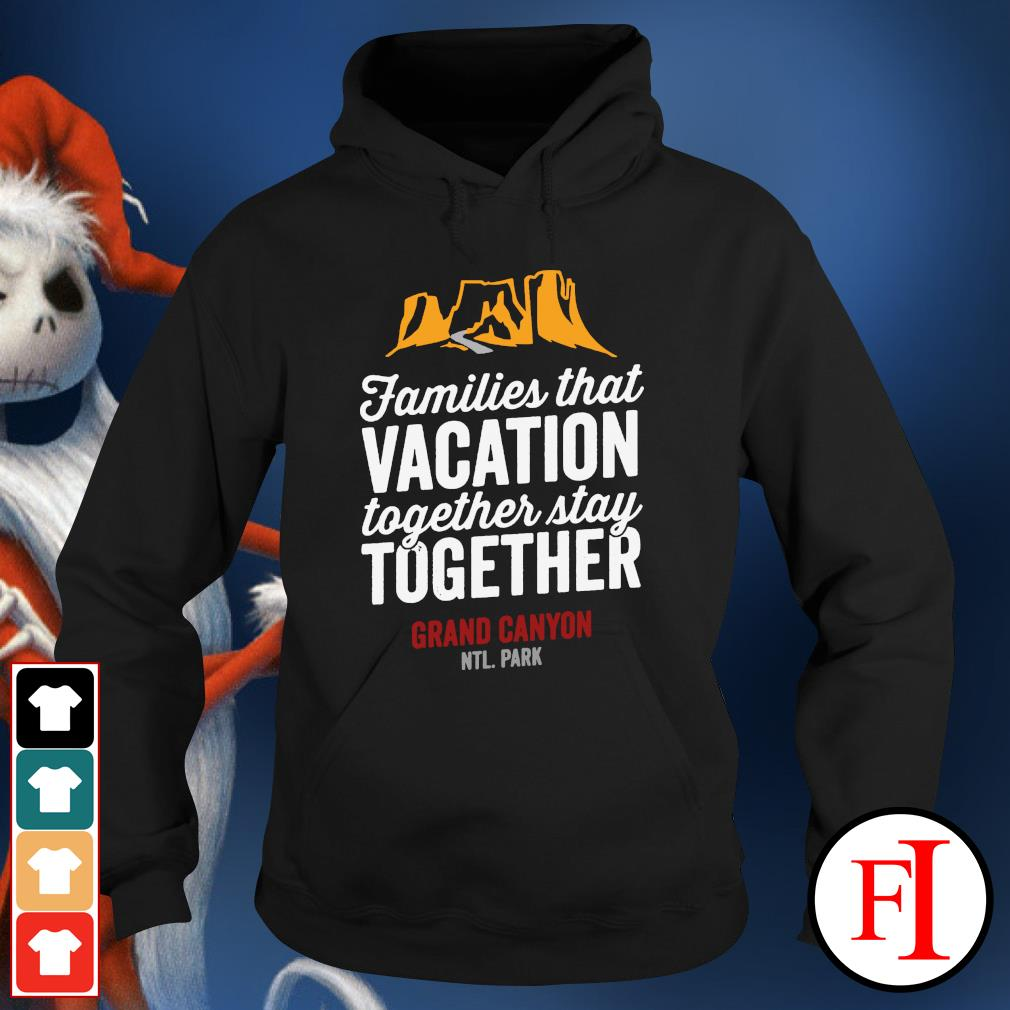 Families that vacation together stay together hoodie