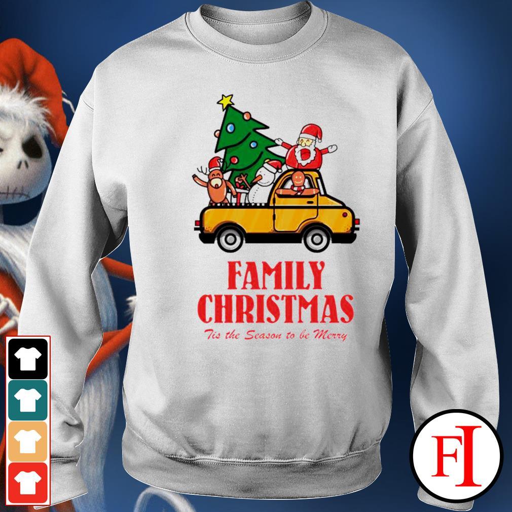 Family Christmas tis the season to be merry sweater