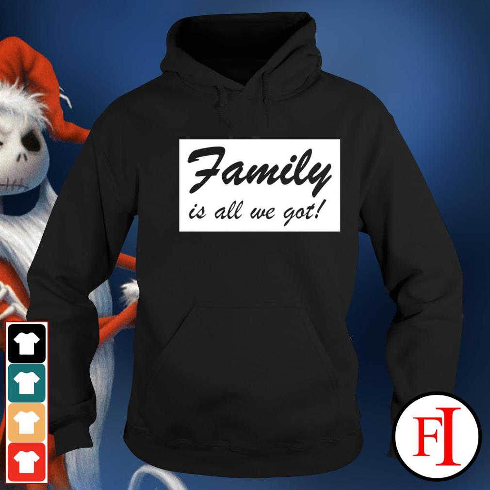 Family is all we got hoodie