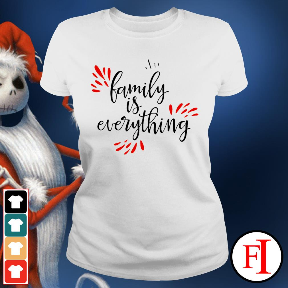 Family is everything ladies-tee