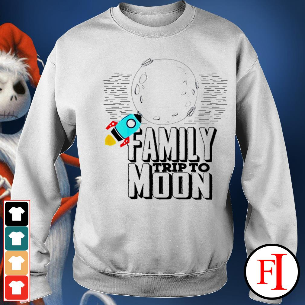 Family trip to Moon sweater