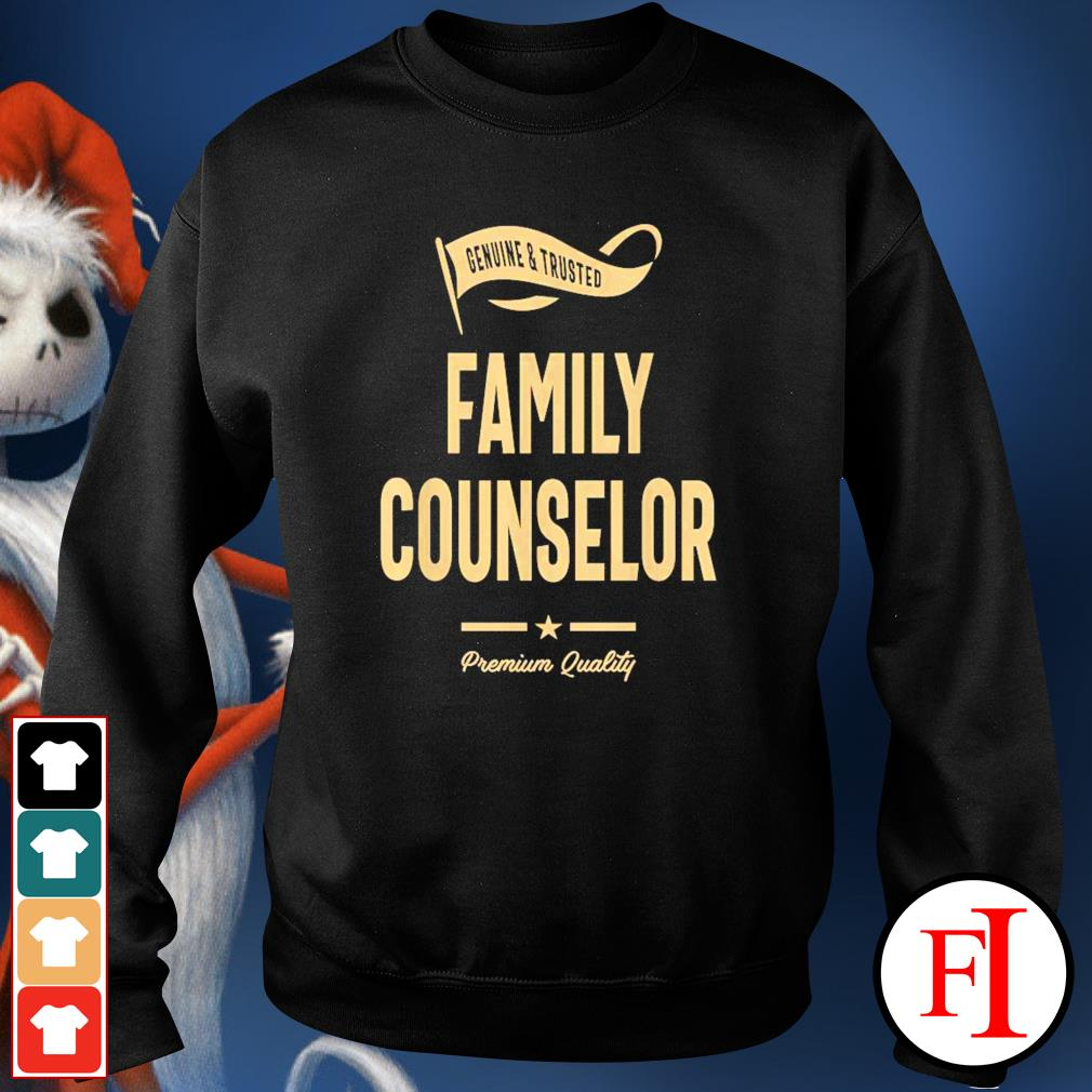 Genuine and trusted family counselor sweater