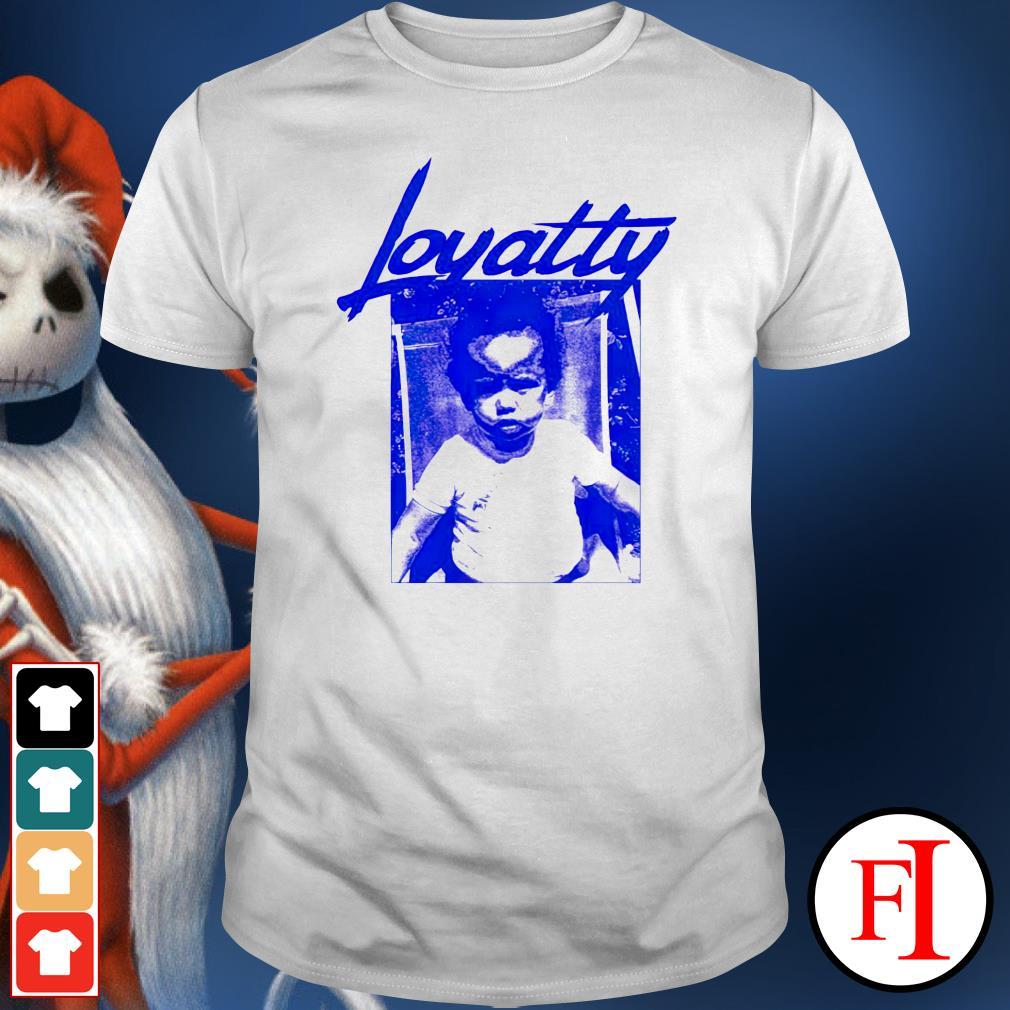 Lewis Hamilton Loyalty shirt