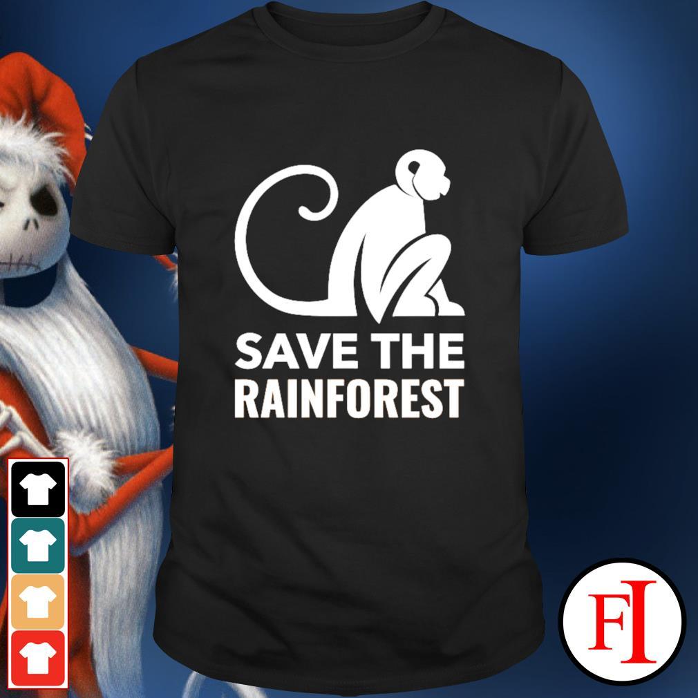 Monkey save the rainforest shirt