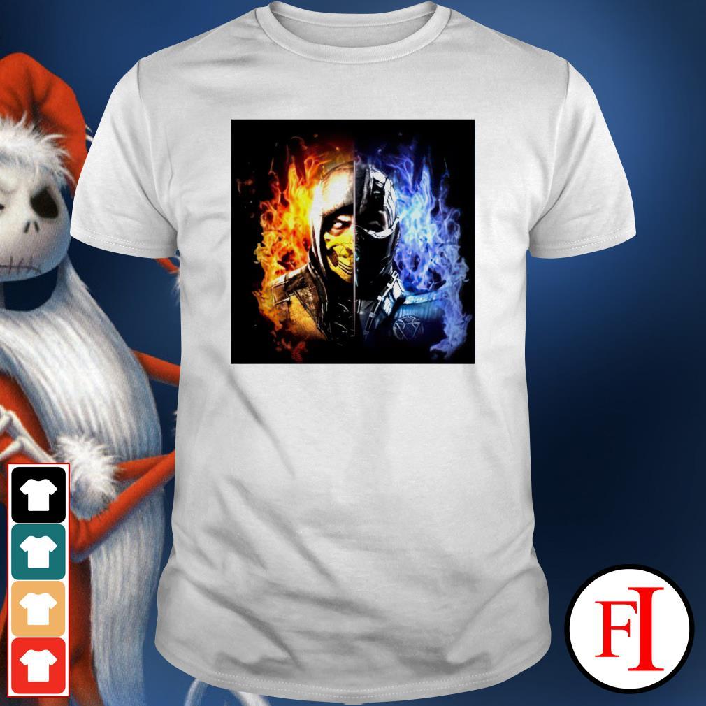 Mortal Kombat Sub Zero shirt