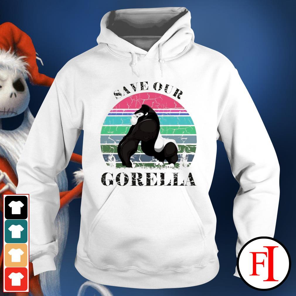 Save our Gorella vintage hoodie