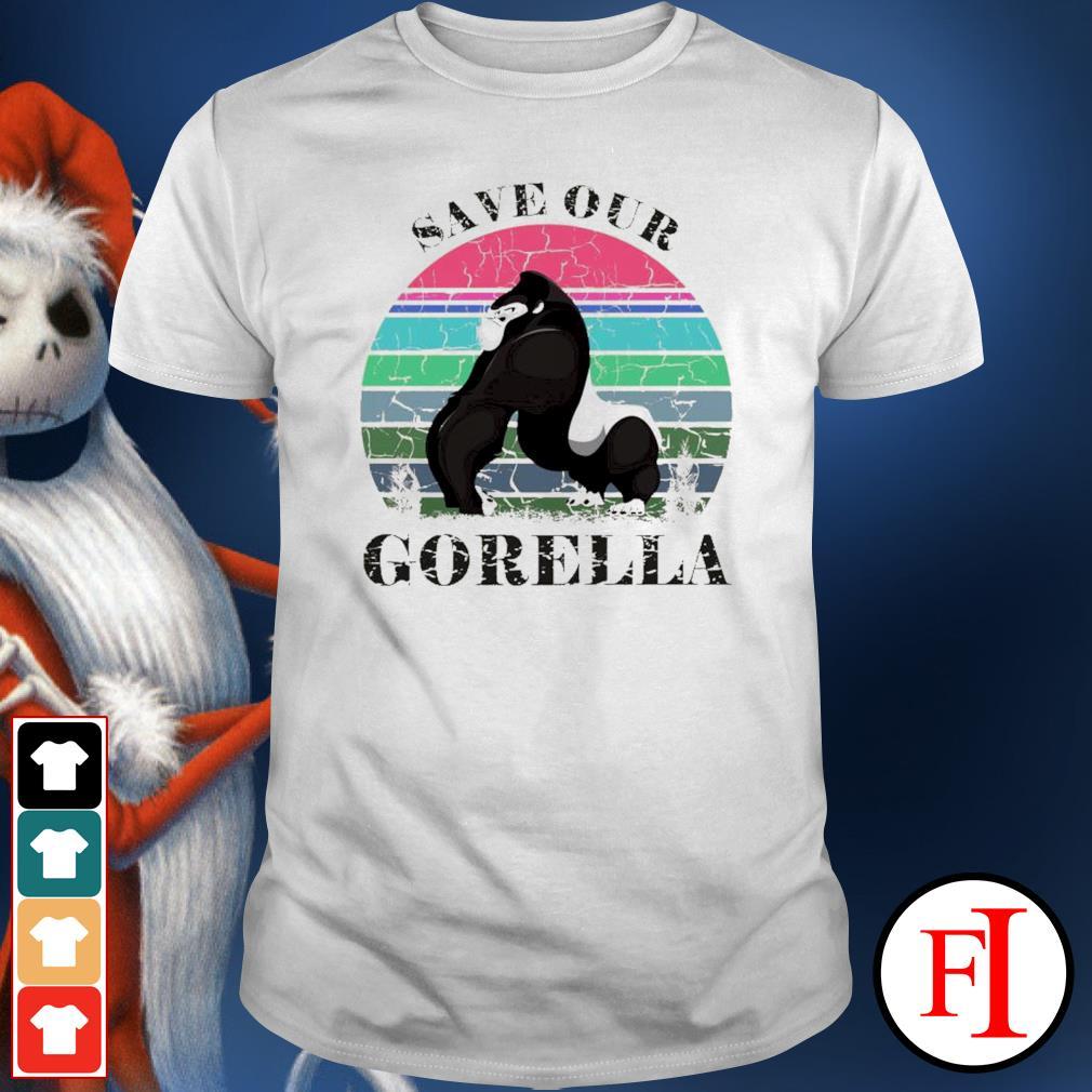 Save our Gorella vintage shirt