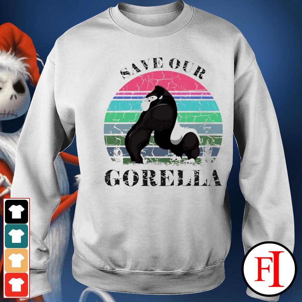 Save our Gorella vintage sweater