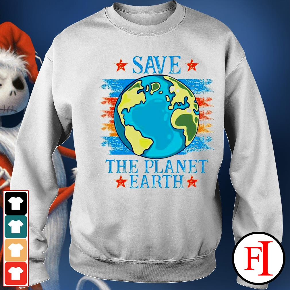 Save the planet Earth sweater