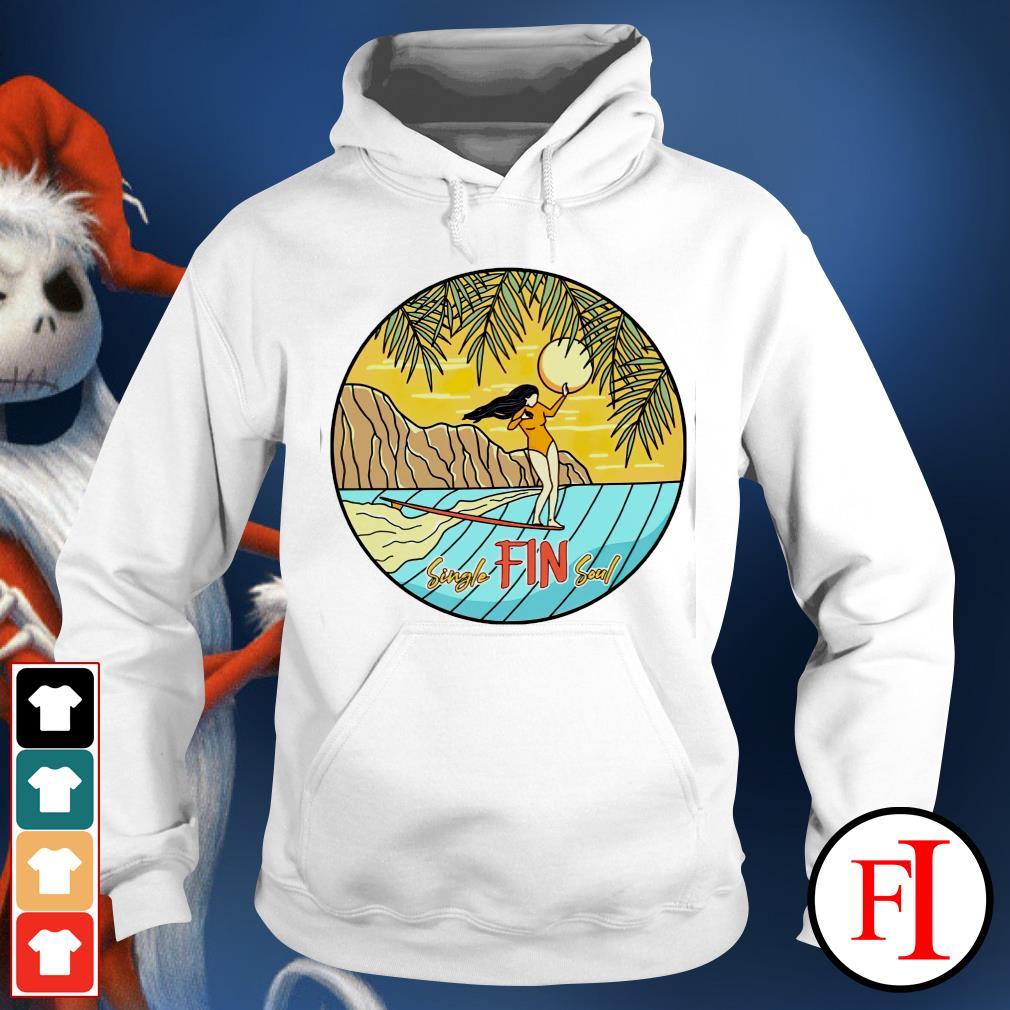 Single Fin soul girl hoodie