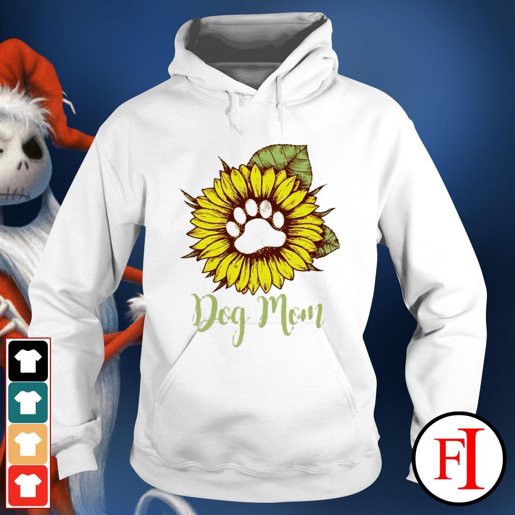 Sunflower paw dog mom hoodie