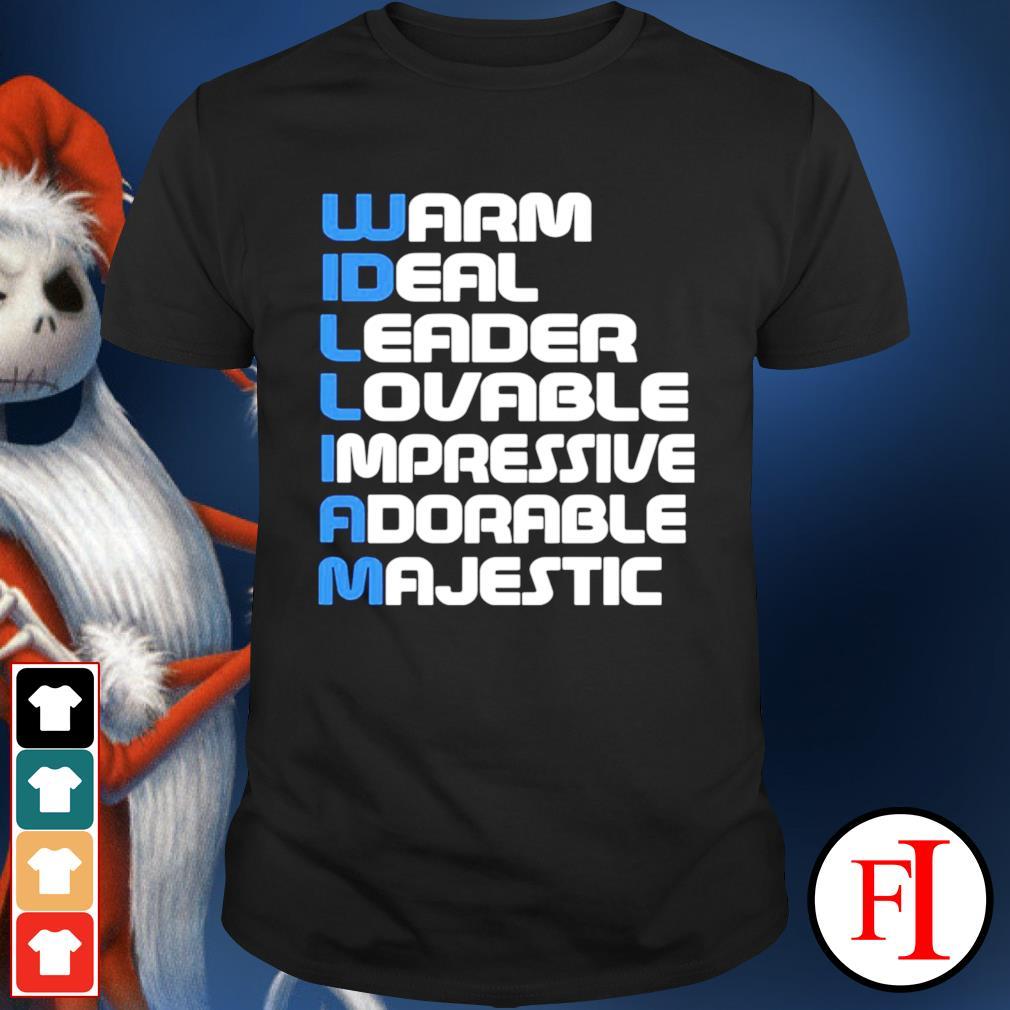 Warm ideal leader lovable impressive adorable majestic shirt