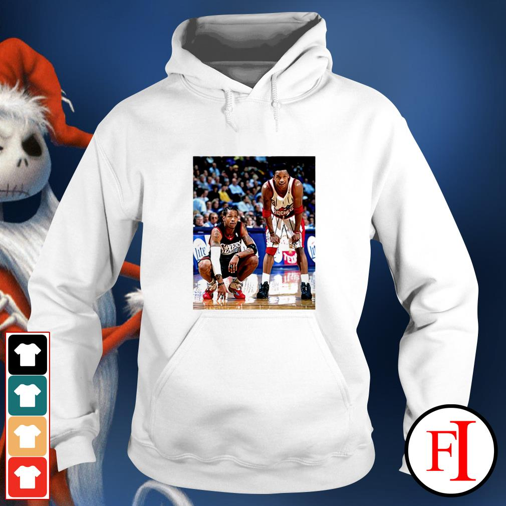 Allen Iverson and Steve Francis hoodie