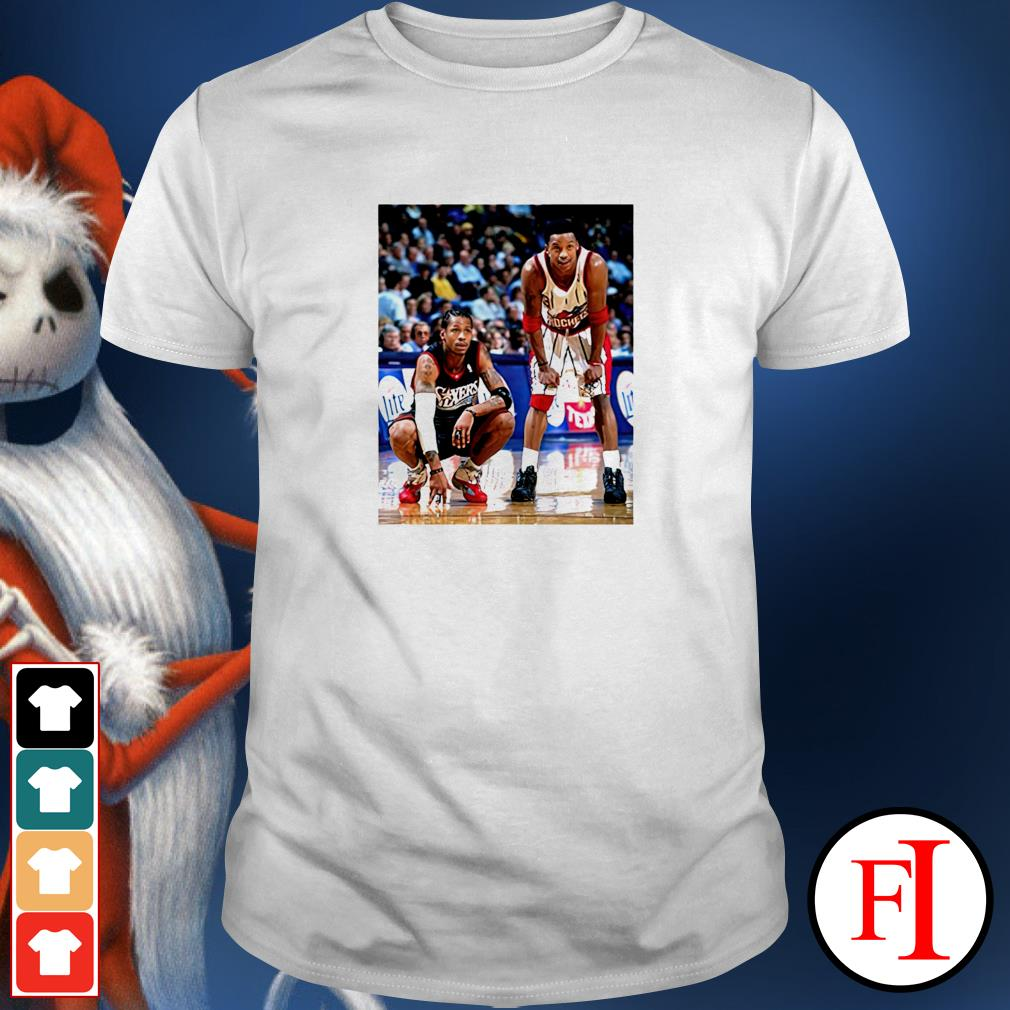 Allen Iverson and Steve Francis shirt