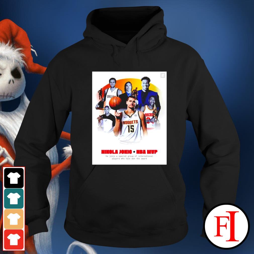 Nikola Jokic Mvp He Join a Special Group hoodie