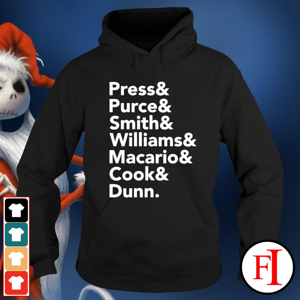 Press and Purce and Smith and Williams hoodie