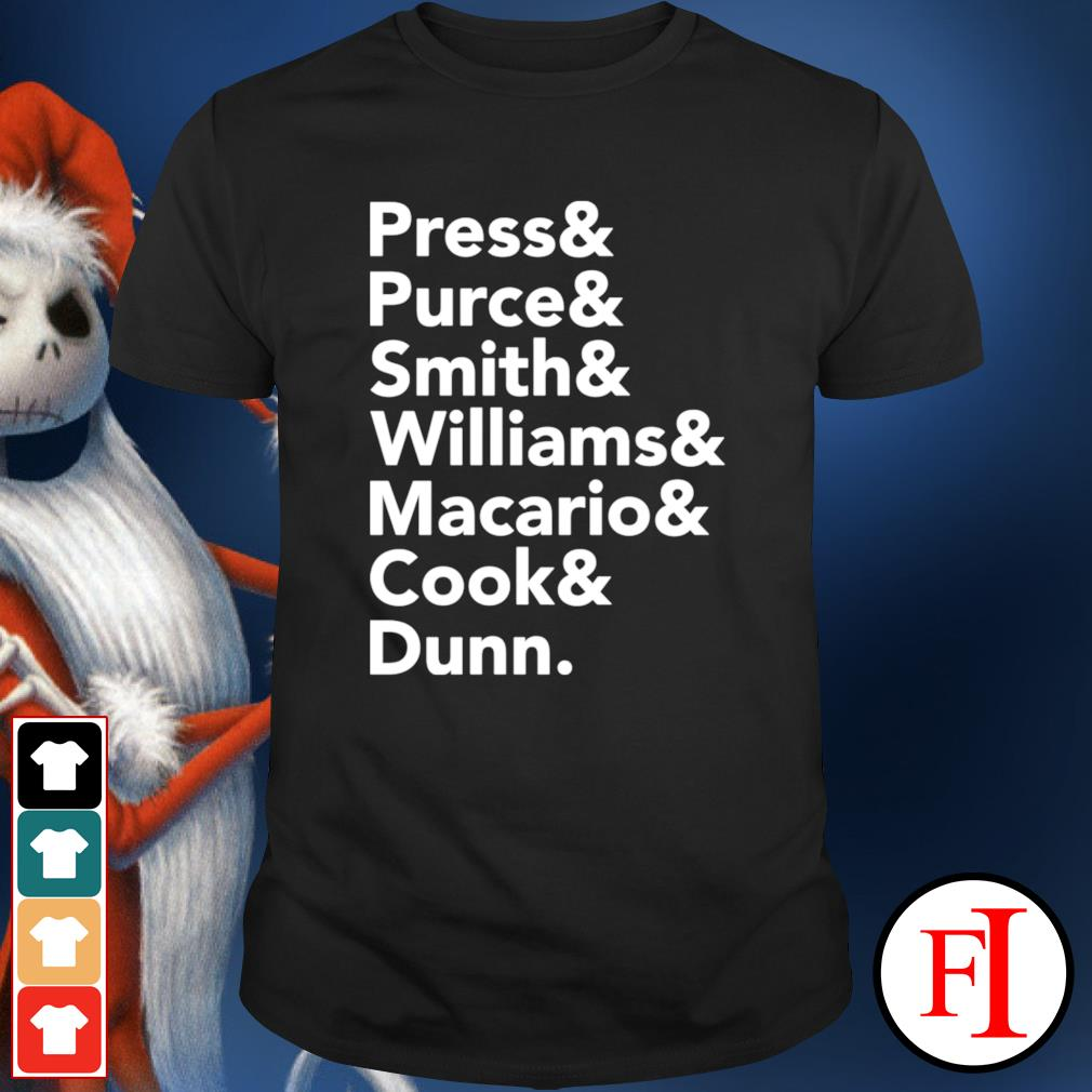 Press and Purce and Smith and Williams shirt