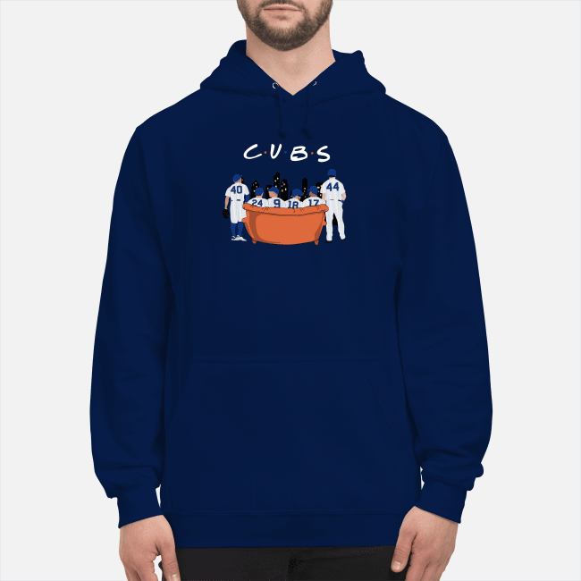 Chicago Cubs Friends TV show Hoodie