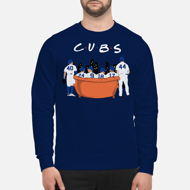 Chicago Cubs Friends TV show Sweater