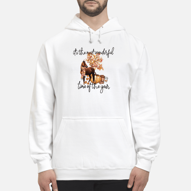 Horse it's the most wonderful time of the year Hoodie