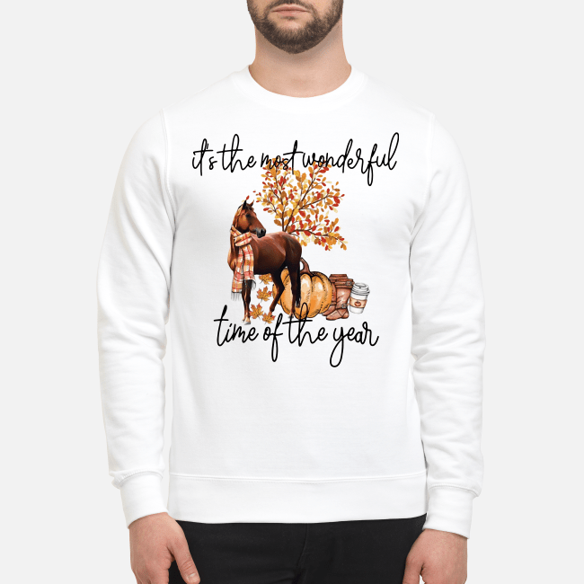Horse it's the most wonderful time of the year Sweater