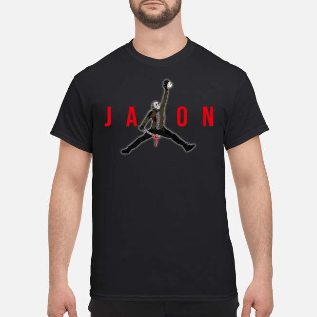 Official Air Jordan Jason Voorhees Shirt