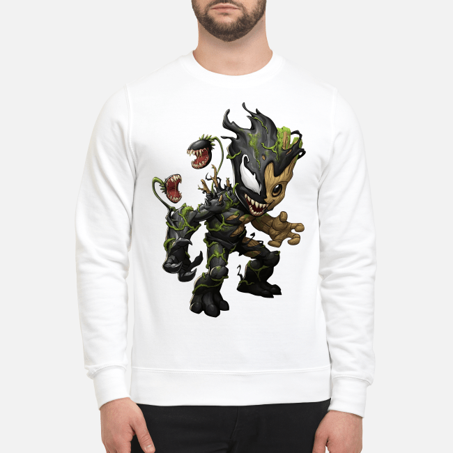 Official Baby Groot Venom Sweater