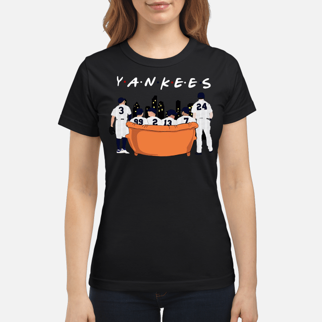 Official Friends TV show New York Yankees Ladies Tee