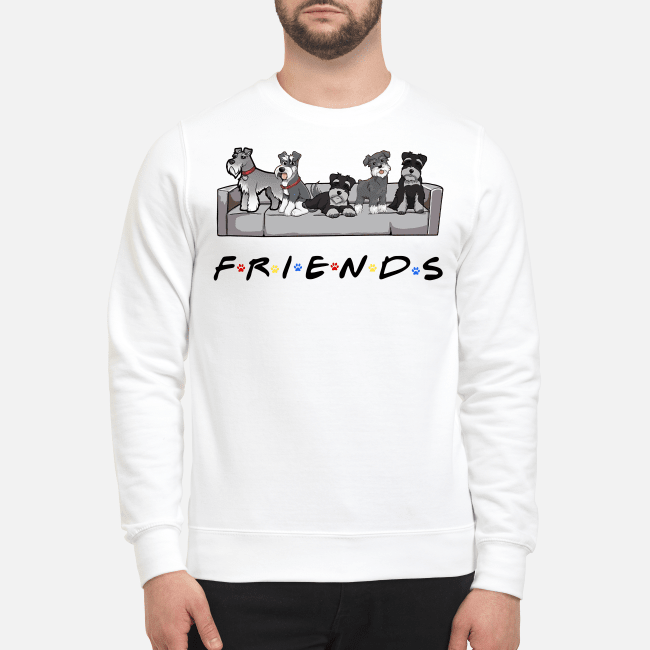 Official Miniature Schnauzer Friends TV show Sweater
