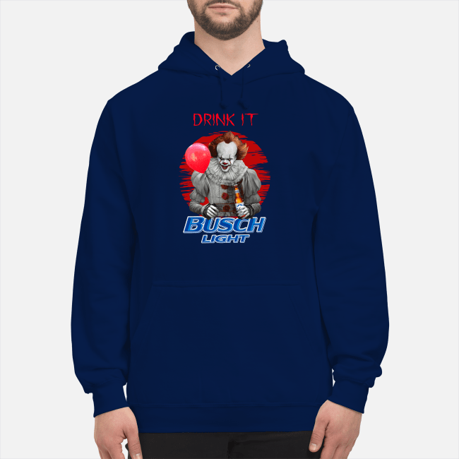 Official Pennywise drink it Busch Light Hoodie