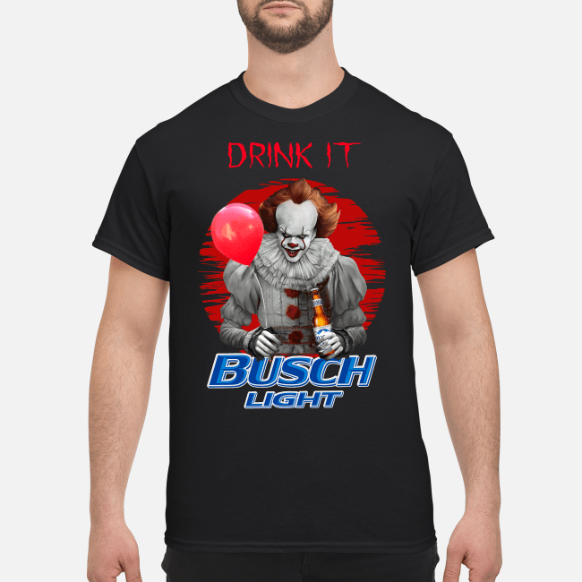 Official Pennywise drink it Busch Light Shirt