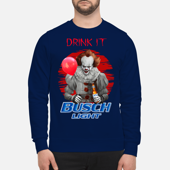 Official Pennywise drink it Busch Light Sweater