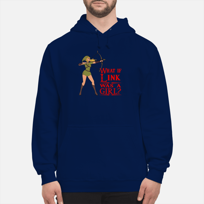 Official What if Link was a girl Hoodie