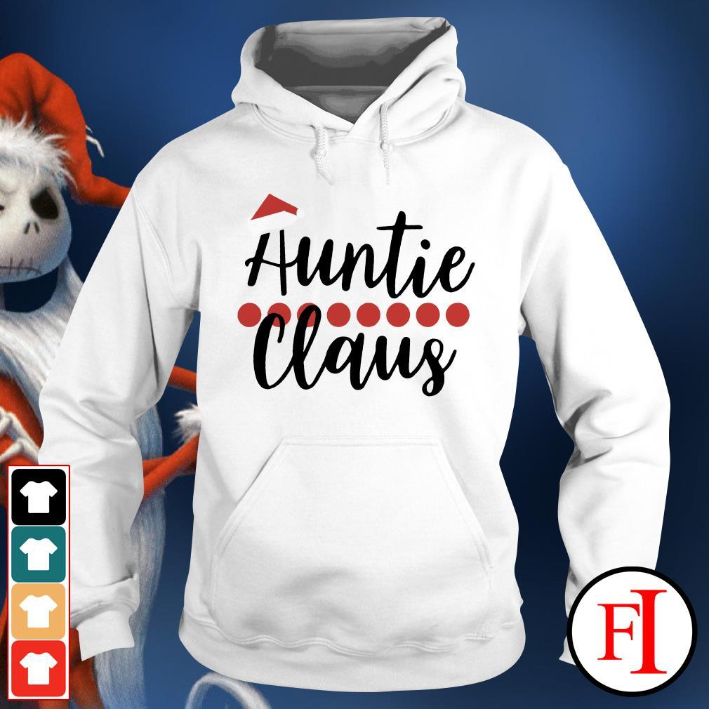 Auntie Claus Christmas Hoodie