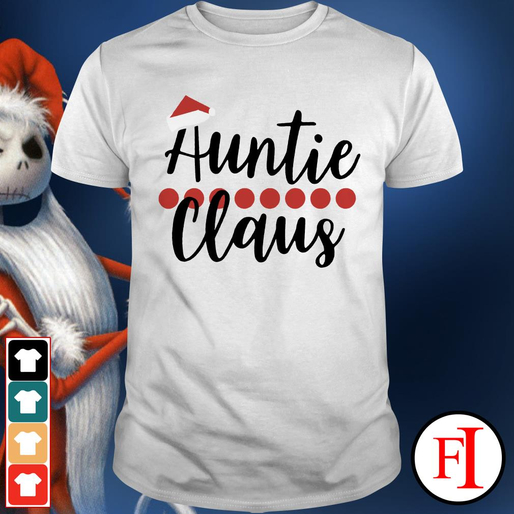 Auntie Claus Christmas Shirt