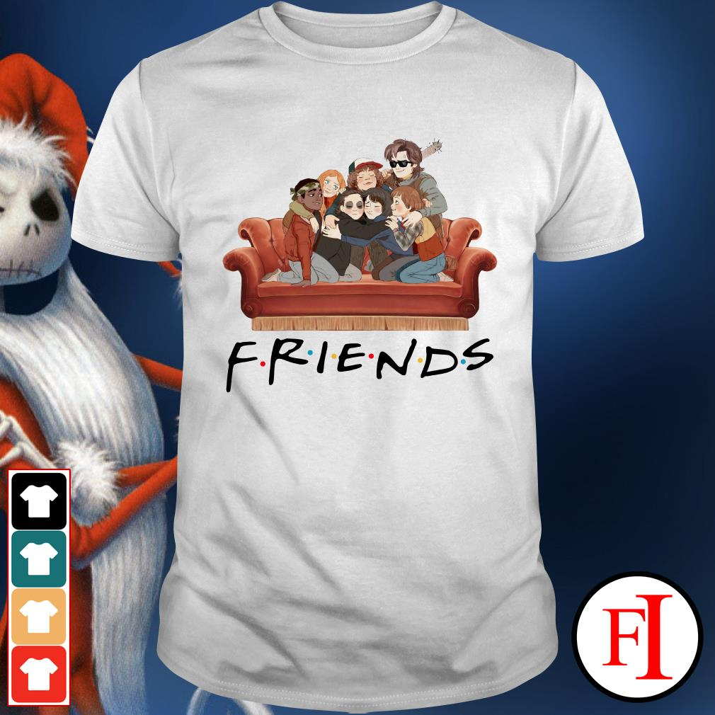 Characters TV show Friends Stranger Things Shirt