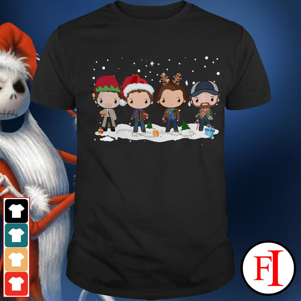 Chibi Christmas Supernatural Winchester Shirt