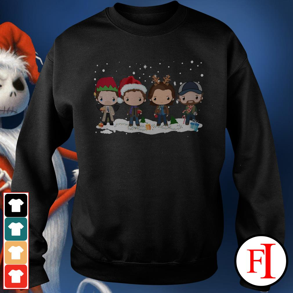 Chibi Christmas Supernatural Winchester Sweater