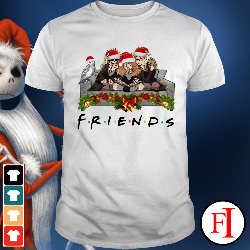 Christmas Friends TV show Harry Potter Hermione and Ron Weasley Shirt