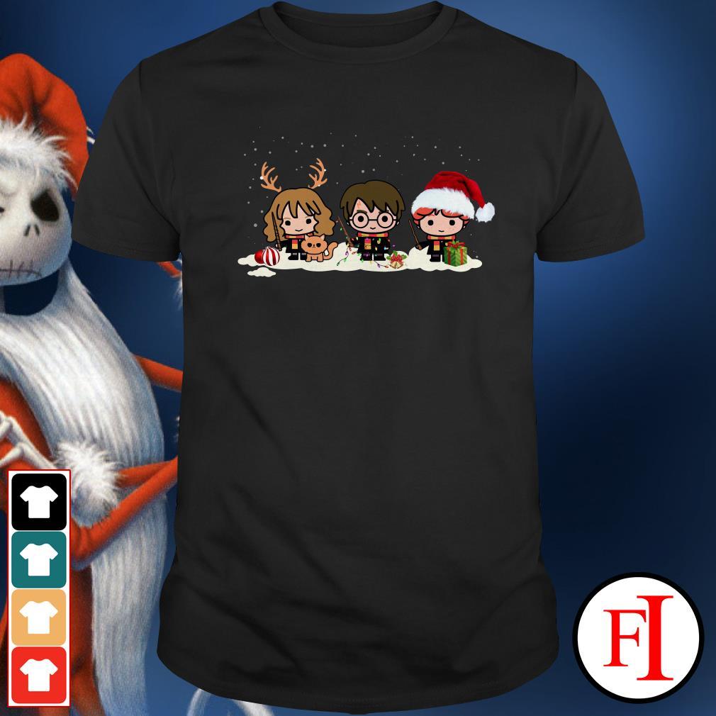 Harry Potter Christmas Shirt.Christmas Harry Potter Chibi Characters Shirt