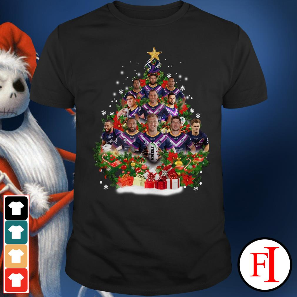 Christmas tree Melbourne Storm players Shirt