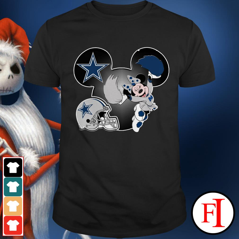 Dallas Cowboys Minnie mouse Shirt