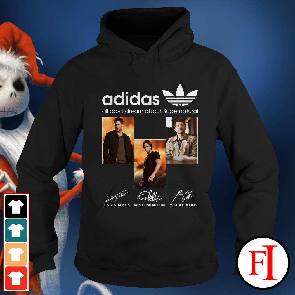 All day I dream about Supernatural Adidas Hoodie