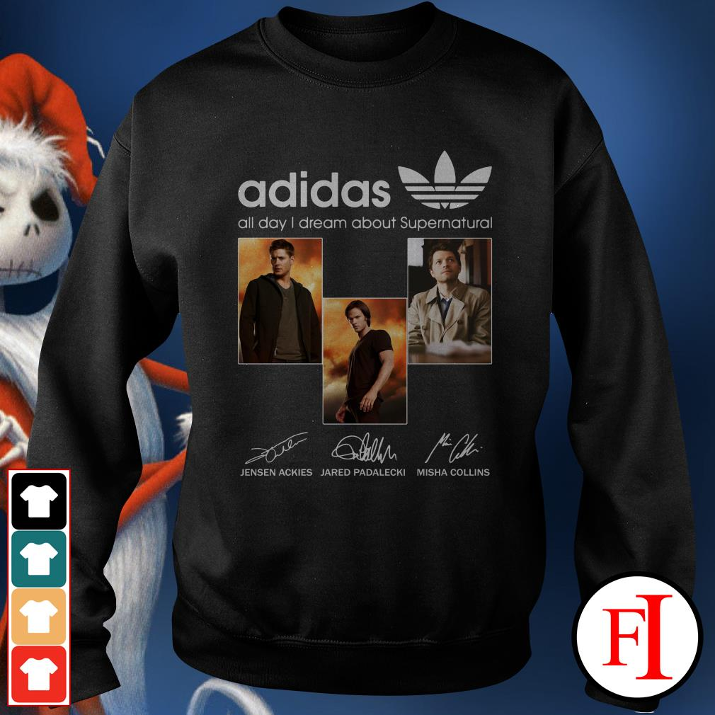 All day I dream about Supernatural Adidas Sweater