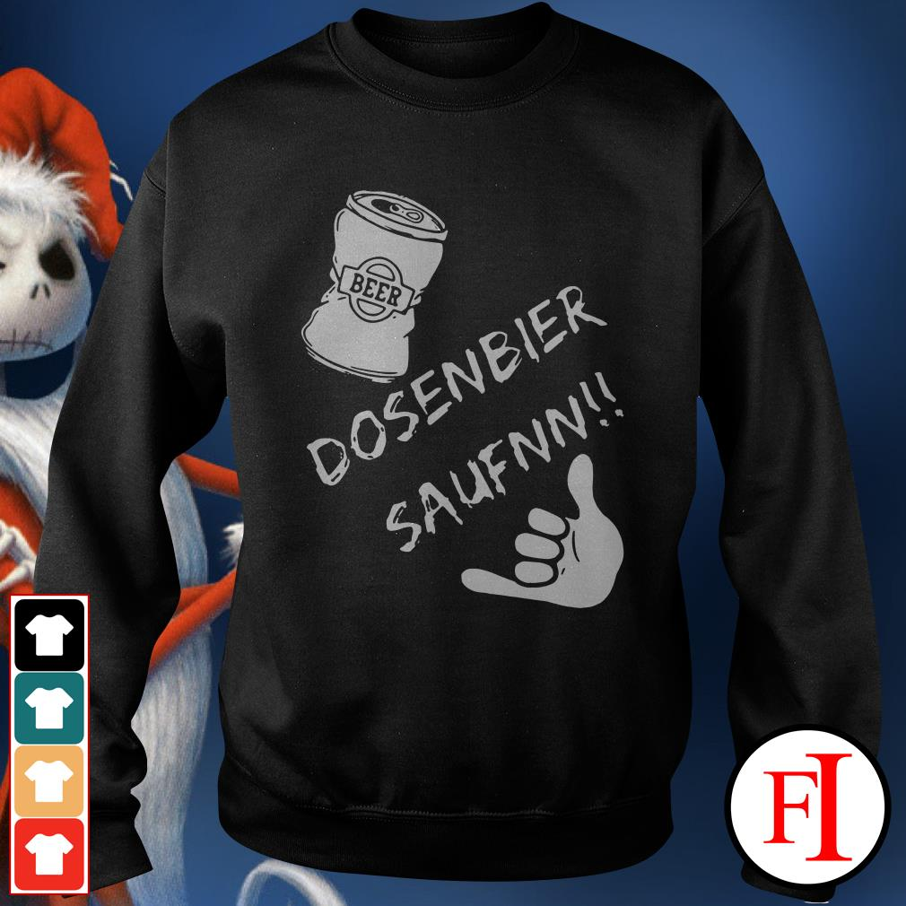 Dosenbier saufnn Beer Sweater